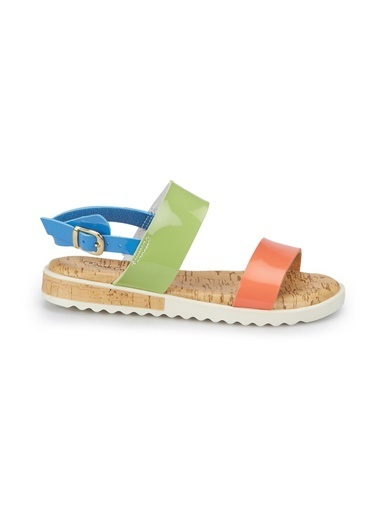 Pink Step Sandalet Mavi